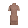 Authentic Second Hand For Love and Lemons Sparkle Knit Metallic Dress (PSS-097-00171) - Thumbnail 1