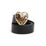 Authentic Second Hand Gucci Heart Crest Buckle Belt (PSS-756-00002) - Thumbnail 4