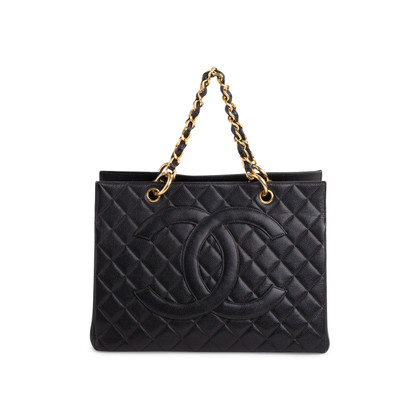 Authentic Vintage Chanel Shopping Tote Bag (PSS-503-00085)
