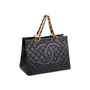Authentic Vintage Chanel Shopping Tote Bag (PSS-503-00085) - Thumbnail 1