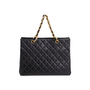 Authentic Vintage Chanel Shopping Tote Bag (PSS-503-00085) - Thumbnail 2