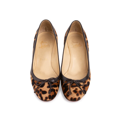 Authentic Second Hand Christian Louboutin Marcia Balla Animal Print Pumps (PSS-405-00024)