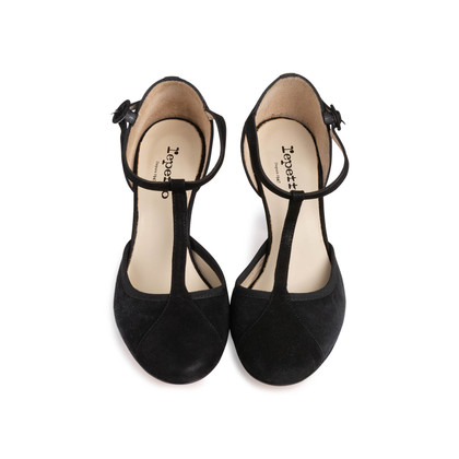 Authentic Second Hand Repetto Baya T-Strap Pumps (PSS-758-00002)