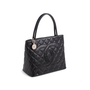 Authentic Second Hand Chanel Caviar Medallion Tote Bag (PSS-760-00003) - Thumbnail 1