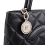 Authentic Second Hand Chanel Caviar Medallion Tote Bag (PSS-760-00003) - Thumbnail 4