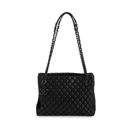 Authentic Second Hand Chanel Fall 2012 Small Shopper Tote (PSS-431-00012)