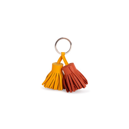 Authentic Second Hand Hermès Carmen Uno-Dos Key Ring (PSS-762-00018)