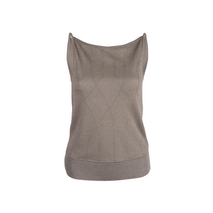 Authentic Second Hand Anteprima Knitted Sleeveless Top (PSS-763-00029)