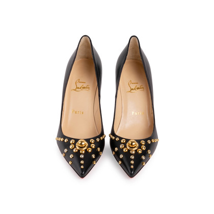 Authentic Second Hand Christian Louboutin Door Knock 85 Pumps (PSS-766-00002)