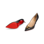 Authentic Second Hand Christian Louboutin Door Knock 85 Pumps (PSS-766-00002) - Thumbnail 4