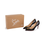 Authentic Second Hand Christian Louboutin Door Knock 85 Pumps (PSS-766-00002) - Thumbnail 8
