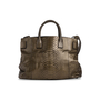 Authentic Second Hand Ling Wu Python Jet Tote (PSS-444-00040) - Thumbnail 2