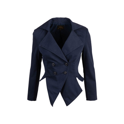 Authentic Second Hand Vivienne Westwood Anglomania Captain Double Breasted Jacket (PSS-748-00097)