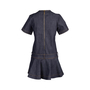 Authentic Second Hand Louis Vuitton Denim Flare Dress (PSS-200-01763) - Thumbnail 1