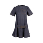 Authentic Second Hand Louis Vuitton Denim Flare Dress (PSS-200-01763) - Thumbnail 0