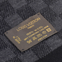 Authentic Second Hand Louis Vuitton Petit Damier Wool Scarf (PSS-743-00003) - Thumbnail 4