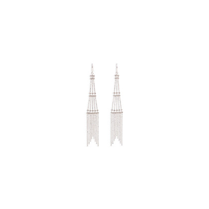 Authentic Second Hand Tiffany & Co Fringe Tower Earrings (PSS-071-00314)