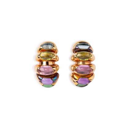 Authentic Vintage Bulgari Celtica Earrings (PSS-071-00321)