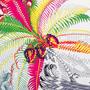 Authentic Second Hand Hermès Mythiques Phoenix Coloriage Scarf (PSS-744-00046) - Thumbnail 3