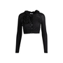 Authentic Second Hand Moschino Roselle Detail Cardigan (PSS-071-00306) - Thumbnail 0