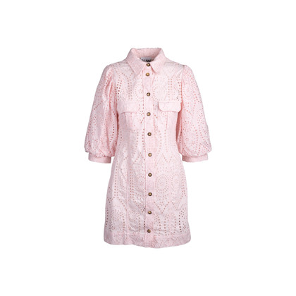 Authentic Second Hand Ganni Broderie Anglaise Dress (PSS-200-01775)