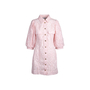 Authentic Second Hand Ganni Broderie Anglaise Dress (PSS-200-01775) - Thumbnail 0