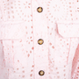 Authentic Second Hand Ganni Broderie Anglaise Dress (PSS-200-01775) - Thumbnail 2