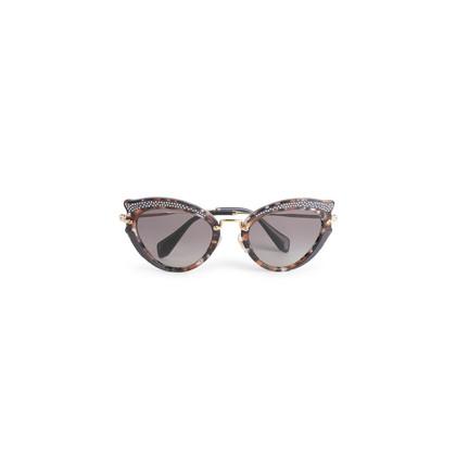 Authentic Second Hand Miu Miu Noir Evolution Cat Eye Sunglasses (PSS-034-00053)