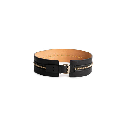 Authentic Second Hand Givenchy Wide Studded Waist Belt (PSS-682-00026)