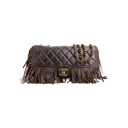 Authentic Second Hand Chanel Paris-Dallas Fringe Flap Bag (PSS-200-01797)
