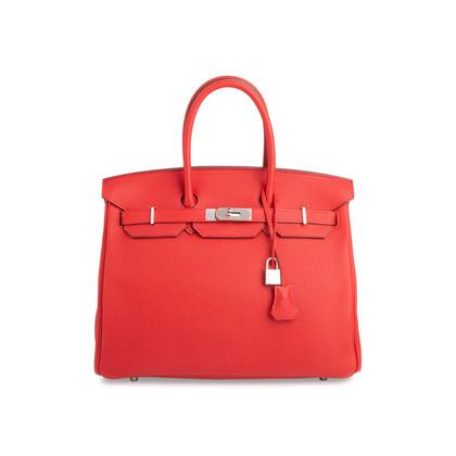 Authentic Second Hand Hermès Geranium Birkin 35 (PSS-691-00024)