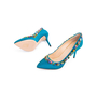 Authentic Second Hand Charlotte Olympia Semi-Precious Silk Pumps (PSS-238-00022) - Thumbnail 4