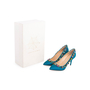 Authentic Second Hand Charlotte Olympia Semi-Precious Silk Pumps (PSS-238-00022) - Thumbnail 6