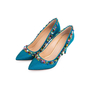 Authentic Second Hand Charlotte Olympia Semi-Precious Silk Pumps (PSS-238-00022) - Thumbnail 1