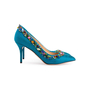Authentic Second Hand Charlotte Olympia Semi-Precious Silk Pumps (PSS-238-00022) - Thumbnail 2