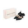 Authentic Second Hand Manolo Blahnik Satin Pumps (PSS-791-00040) - Thumbnail 6