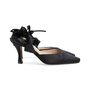 Authentic Second Hand Manolo Blahnik Satin Pumps (PSS-791-00040) - Thumbnail 2