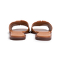 Authentic Second Hand Tory Burch Ines Leather Slides (PSS-809-00002) - Thumbnail 3