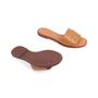Authentic Second Hand Tory Burch Ines Leather Slides (PSS-809-00002) - Thumbnail 5