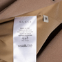 Authentic Second Hand Gucci Camel Wool Coat (PSS-789-00001) - Thumbnail 2