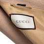 Authentic Second Hand Gucci Camel Wool Coat (PSS-789-00001) - Thumbnail 3