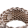 Authentic Second Hand Tiffany & Co Somerset Mesh Ring (PSS-730-00013) - Thumbnail 4