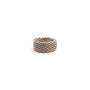 Authentic Second Hand Tiffany & Co Somerset Mesh Ring (PSS-730-00013) - Thumbnail 1