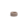Authentic Second Hand Tiffany & Co Somerset Mesh Ring (PSS-730-00013) - Thumbnail 0