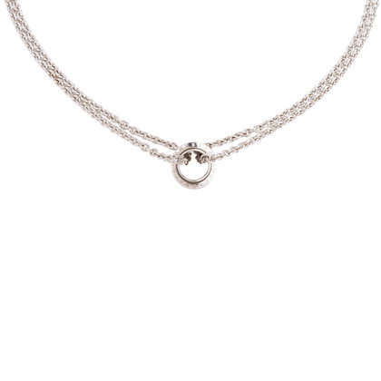 Authentic Second Hand Montblanc Wish Silver Necklace (PSS-730-00009)