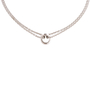 Authentic Second Hand Montblanc Wish Silver Necklace (PSS-730-00009) - Thumbnail 0
