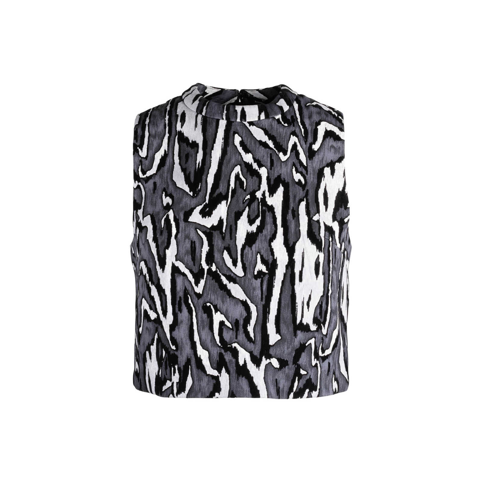 Authentic Second Hand Proenza Schouler Velvet Pattern Top Pss 196 00023 The Fifth Collection