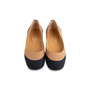 Authentic Second Hand Chanel 2-Toned Flats (PSS-804-00001) - Thumbnail 0