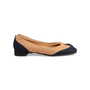 Authentic Second Hand Chanel 2-Toned Flats (PSS-804-00001) - Thumbnail 1