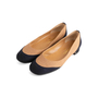 Authentic Second Hand Chanel 2-Toned Flats (PSS-804-00001) - Thumbnail 2